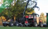 Malotraktor a vyvážačka