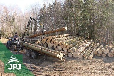 Vyvážacie vlek Vahva Jussi 1500_320 pre pracovné ATV štvorkolku