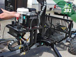 držiak hydraulické jednotky na vyvážecím vleku